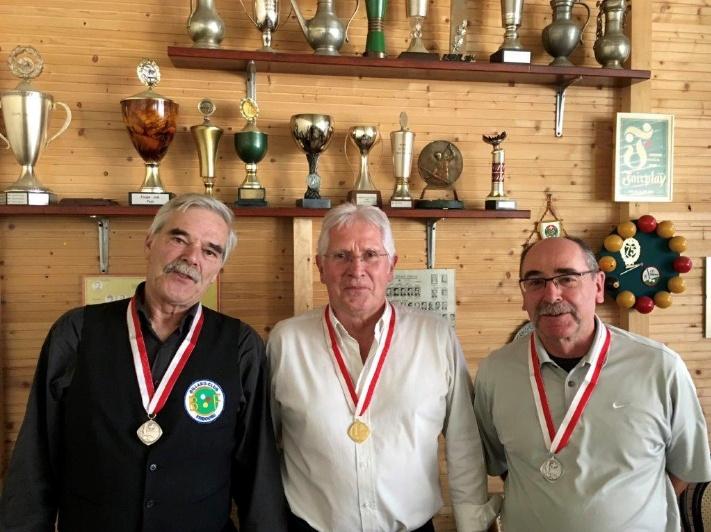 Dritte Goldmedaille für den BCF