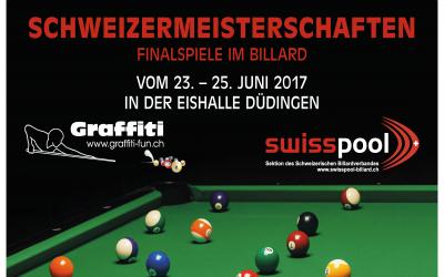 Championnats Suisses de billard américain du 23 au 25 juin 2017 à Guin